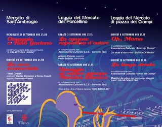 Mercati in Musica – Rassegna 2011