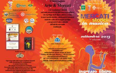 Mercati in Musica – Rassegna 2013
