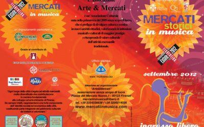 Mercati in Musica – Rassegna 2012